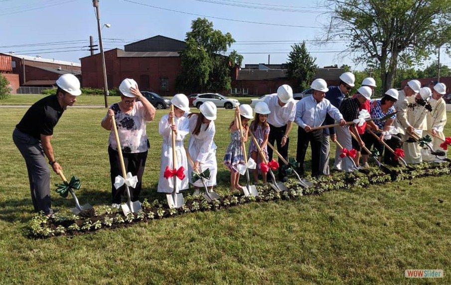 Feast Day Groundbreaking 2019